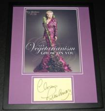 Cloris Leachman Signed Framed 11x14 Photo Display Facts of Life Phyllis