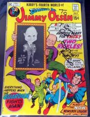 Don Rickles Signed Superman's Pal #139 Comic Guaranteed Authentic