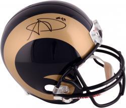 Aaron Donald St. Louis Rams 2014 NFL Draft Autographed Riddell Replica Helmet