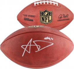 Aaron Donald St. Louis Rams 2014 NFL Draft Autographed Duke Pro Football - Mounted Memories