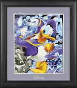 "Donald Duck Disney Framed ""Celebrate the Duck"" 11"" x 14"" Matted Photo"