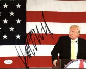 Donald J. Trump Signed 8X10 Photo Autographed JSA #Z03567`
