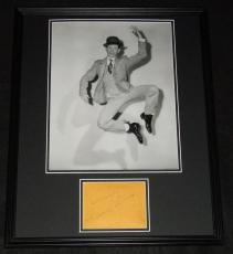 Donald O'Connor Signed Framed 16x20 Poster Photo Display Singin in the Rain B