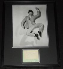 Donald O'Connor Signed Framed 16x20 Poster Photo Display Singin in the Rain