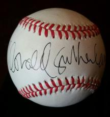 DONALD SUTHERLAND Actor Autograph Baseball JSA Certified Signed Auto