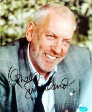 Donald Sutherland autographed 8x10 Photo Image #2