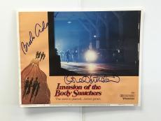 Donald Sutherland Brooke Adams Invasion Of Body Snatchers Auto 11x14 Photo Jsa