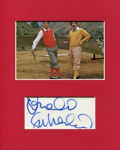 Donald Sutherland MASH Hawkeye Pierce Golf Signed Autograph Photo Display JSA