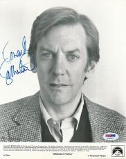 Donald Sutherland Signed 8x10 Photo Autograph Auto PSA/DNA X78257