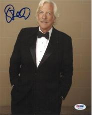 Donald Sutherland Signed Authentic Autographed 8x10 Photo (PSA/DNA) #H15603