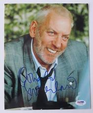 Donald Sutherland Signed Authentic Autographed 8x10 Photo (PSA/DNA) #I72418
