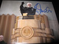 DONALD SUTHERLAND SIGNED AUTOGRAPH 8x10 PHOTO MOCKINGJAY PROMO HUNGER GAMES D