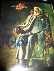 DONALD SUTHERLAND SIGNED AUTOGRAPH 8x10 PHOTO MOCKINGJAY PROMO HUNGER GAMES E