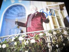 DONALD SUTHERLAND SIGNED AUTOGRAPH 8x10 PHOTO MOCKINGJAY PROMO HUNGER GAMES F