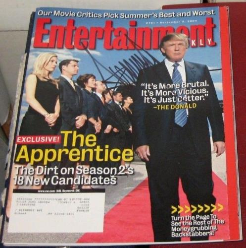 Donald Trump 45th President United States SIGNED Magazine COA AUTOGRAPHED