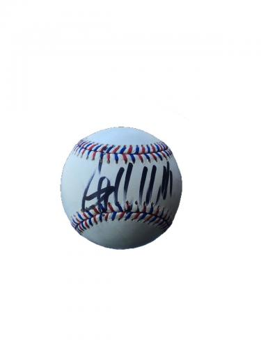 Donald Trump (American Flag) Official Major League Baseball Signed Jsa