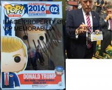 Donald Trump Hand Signed   Autographed Funko Pop Toy Doll Figurine - JSA