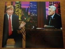 Donald Trump Jay Leno Presidental Candidate Signed Autographed 8x10 Photo W/coa