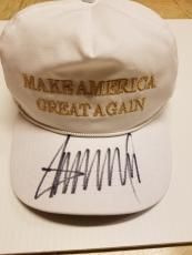 Donald Trump Jsa Coa Signed Official Hat Made In Usa Make America Great Again