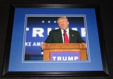Donald Trump Making Funny Face Framed 8x10 Photo Poster