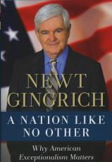 Newt Gingrich Signed Autographed Book & Callista 1/1 A Nation Like No Other