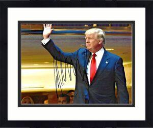Donald Trump President POTUS 45th Signed 8x10 Photo MAGA USA W/ DG COA (A)