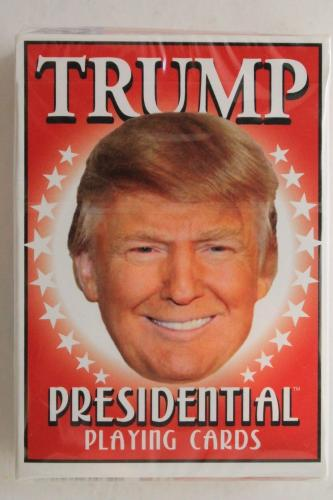 Donald Trump President Sealed Deck Of Playing Cards w/ Friends & Foes *MAGA*