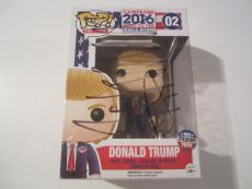 Donald Trump President Signed Autographed POP Figure JSA COA Super Rare