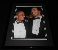 Donald Trump & Roy Cohn Framed 11x14 Photo Display