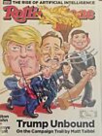 Donald Trump Signed Autograph Rolling Stone Magazine 2016 President JSA