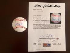 Donald Trump Signed Baseball 45th United States President PSA/DNA LOA Rare