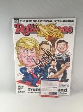 Donald Trump Signed Rolling Stone Magazine Trump Unbound Psa Dna