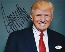 Donald Trump United States President Autographed Signed 8x10 Photograph (JSA)
