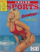 Donna D' Errico Signed Inside Sports Magazine PSA/DNA# P42276