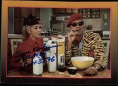 Donna Douglas Beverly Hillbillies Elly May Signed Trading Card 1993 Eclipse #28