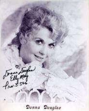 Donna Douglas Psa/dna Signed 8x10 Photo Authenticated Autograph