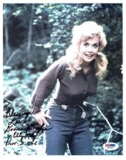 Donna Douglas Signed Beverly Hillbillies Authentic Auto 8x10 Photo PSA/DNA