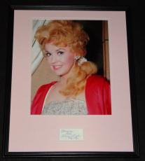 Donna Douglas Signed Framed 16x20 Photo Poster Display Beverly Hillbillies C