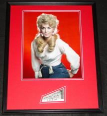 Donna Douglas Signed Framed 16x20 Photo Poster Display Beverly Hillbillies D