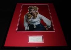 Donna Douglas Signed Framed 16x20 Photo Poster Display Beverly Hillbillies E
