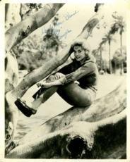 Donna Douglas Vintage Beverley Hillbillies Psa/dna Signed 8x10 Photo Autograph