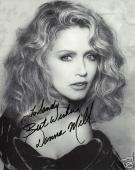 Donna Mills Autographed 8x10  photo