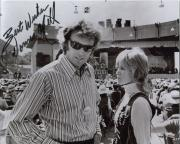 DONNA MILLS HAND SIGNED 8x10 PHOTO+COA       WITH EASTWOOD     PLAY MISTY FOR ME