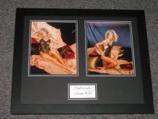 Donna Mills SEXY Lingerie Signed Framed 16x20 Photo Display Set Knots Landing