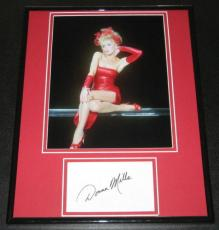 Donna Mills SEXY Signed Framed 11x14 Photo Poster Display Knots Landing