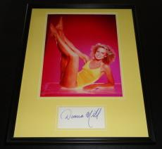 Donna Mills SEXY Signed Framed 16x20 Photo Poster Display Knots Landing