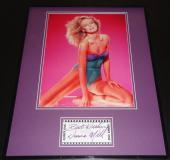 Donna Mills Signed Framed 16x20 Photo Poster Display Knots Landing