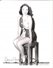 "DONNA REED - Movies Include ""FROM HERE to ETERNITY"" and ""IT'S A WONDERFUL LIFE"" (Passed Away 1986) Signed 8x10 B/W Photo"