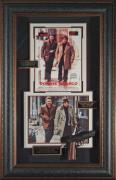 Donnie Brasco Johnny Depp Al Pacino Signed Framed Movie Disp