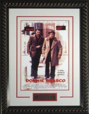 "Donnie Brasco Framed 11x17"" Publicity Movie Poster"
